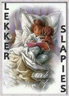Lekker slapies - Afrikaans