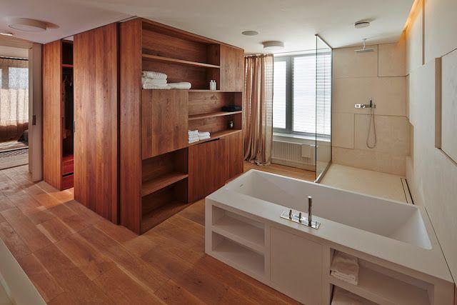 дневник дизайнера: Уютный и современный интерьер квартиры под дерево в Братиславе