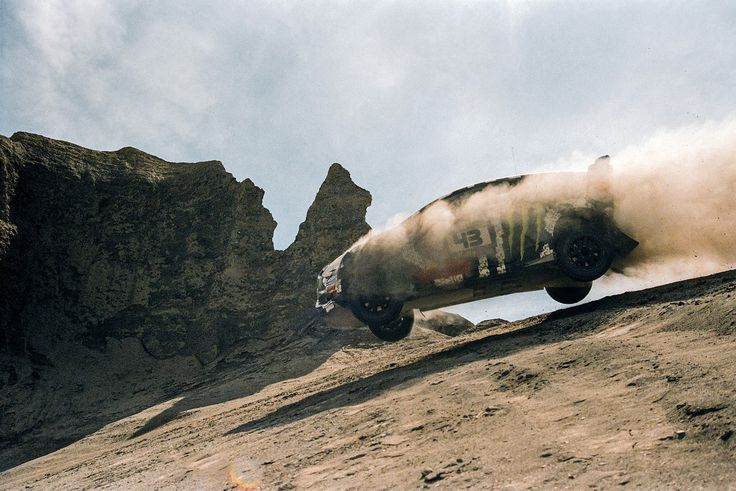What Happens When You Let Rally Driver Ken Block Loose in the Desert | WIRED