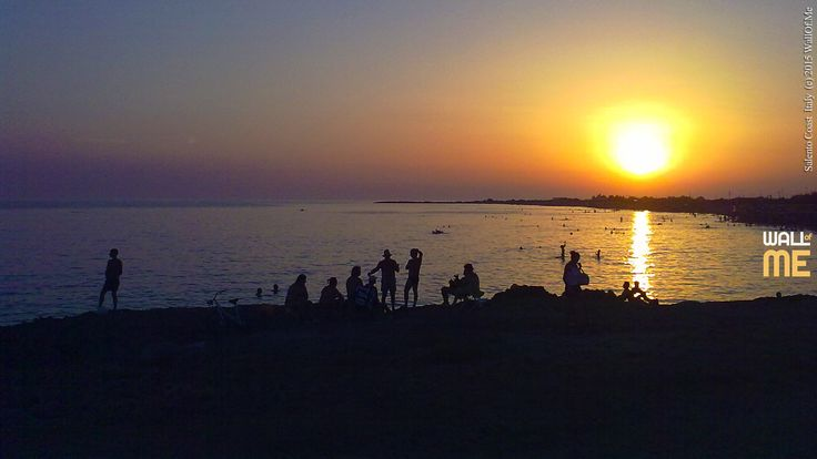 2015, week 29. Sunset on the Southern Coast - Salento, Italy. Picture taken: 2013, 08