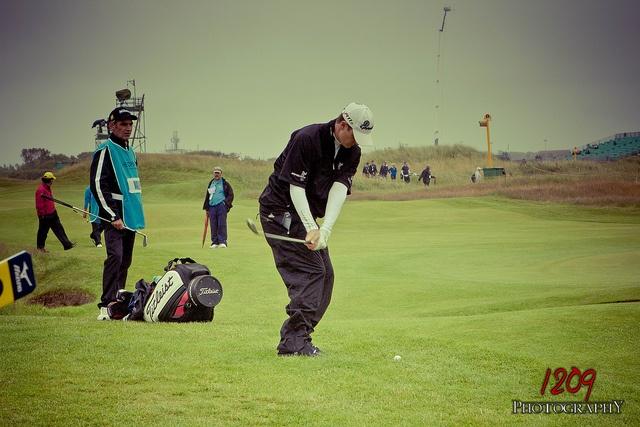 #Justin Rose Chipping - Open 2012 http://golfdriverreviews.mobi/golfpictures/ Justin Rose Golf Pro