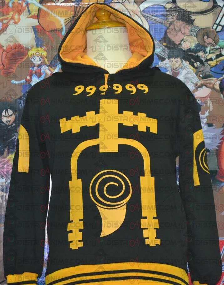 Jaket Naruto Bijuu Mode Kyuubi - DistroAnime.com