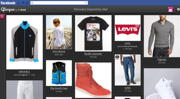"""TheFind Gives Us A """"Glimpse"""" Of A New Social Shopping Experience On FacebookShops Experiments, Rss Feeding, Shops App, Exclusively Accessible, Social, Call Glimpse, Facebook Commerce, Shops Site, Facebook News"""