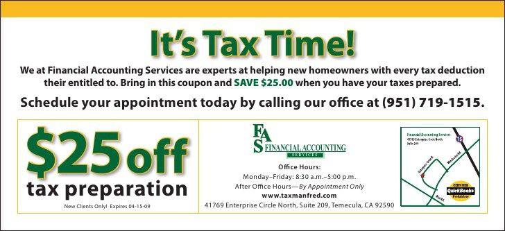 Tax Preparation Marketing