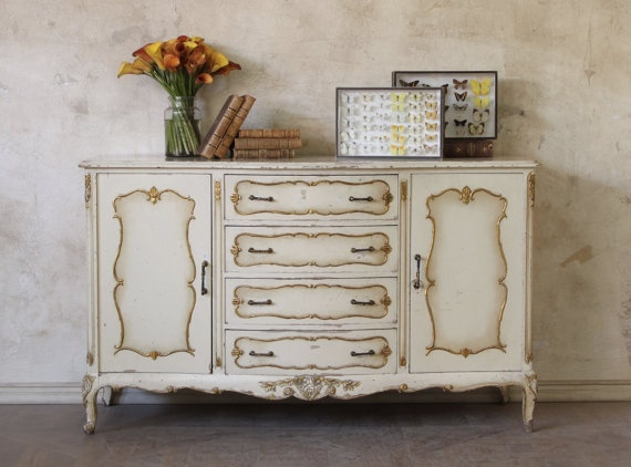 Gorgeous 1940 S Style Dresser Imported From France This Would Go Great With The Antique Wash