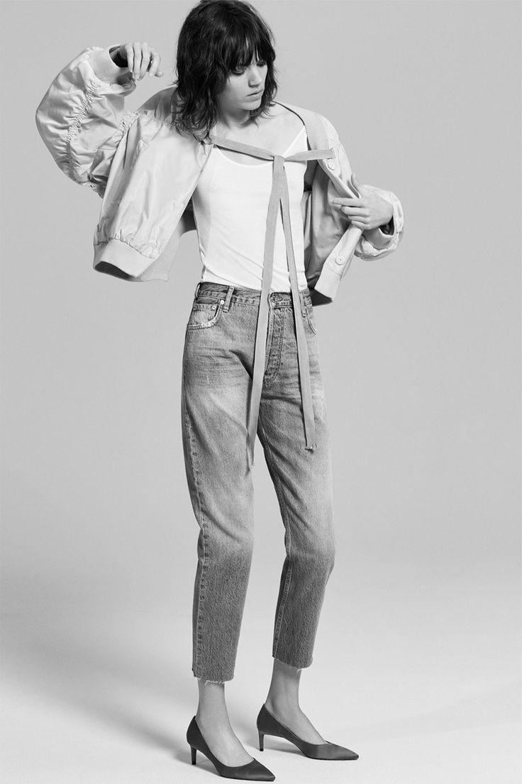 Zara colección Denim 2017