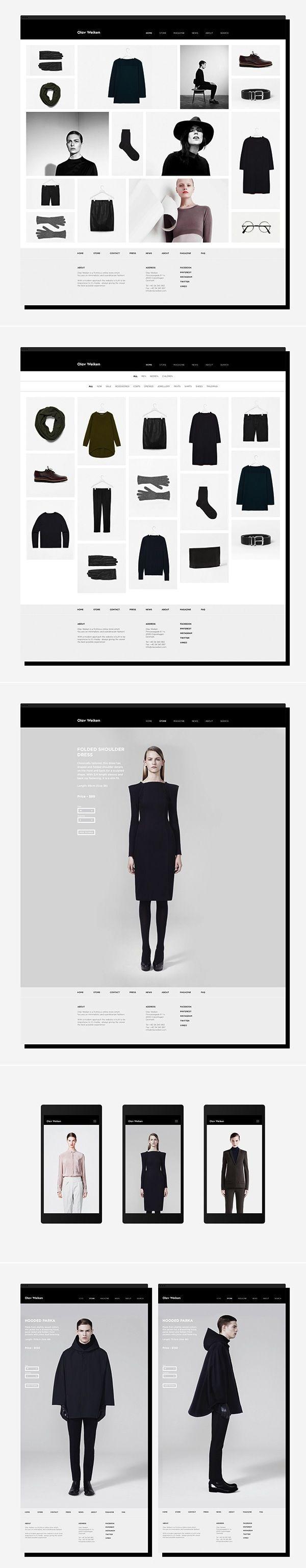 Olav Weiken Website by Thorbjørn Gudnason