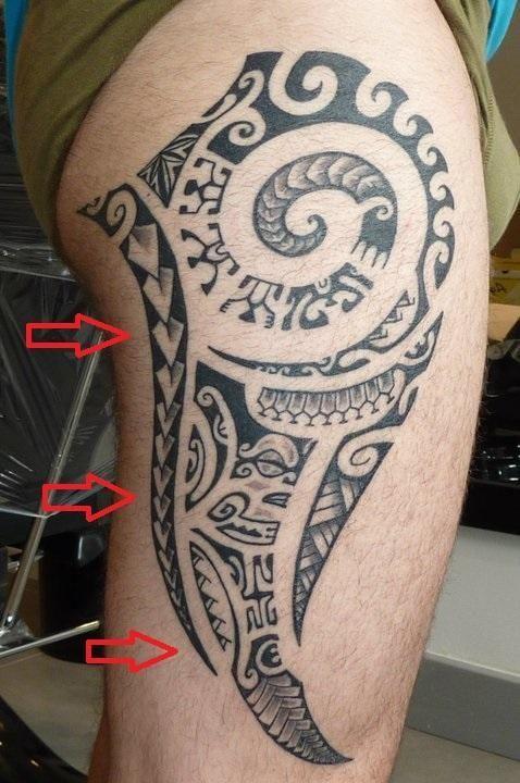 149 best maori leg design images on pinterest polynesian tattoos tattoo maori and polynesian - Tatouage maorie signification ...