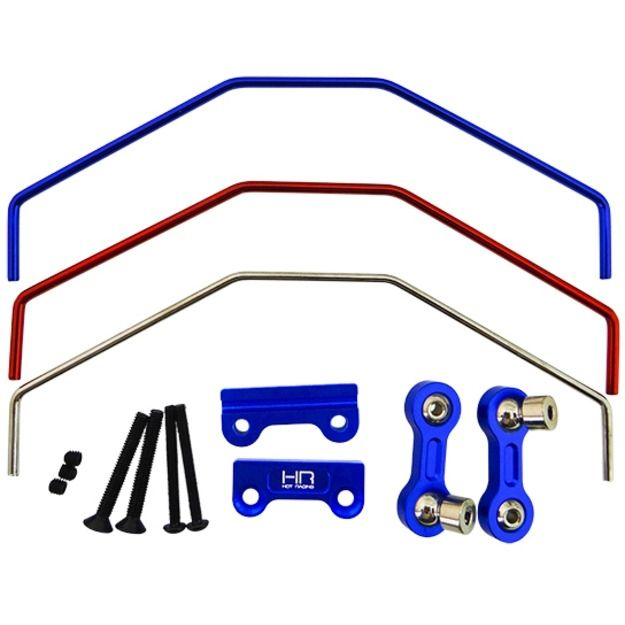 54.19$  Watch now - http://ali6x6.worldwells.pw/go.php?t=32762139748 - Aluminum Sway Bar Anti-roll bar Front / Rear for Traxxas X-maxx 54.19$
