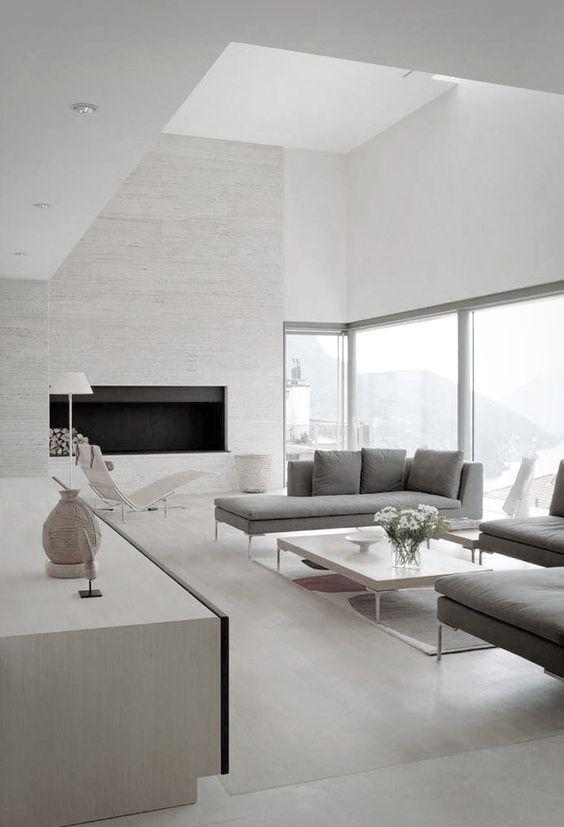 65 Modern Minimalist Living Room Ideas: 25+ Beste Ideeën Over Moderne Woonkamers Op Pinterest