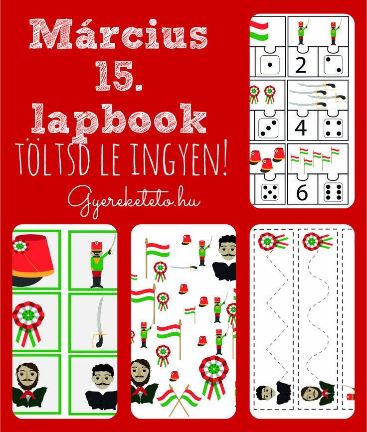 Március 15 lapbook