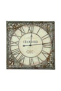 VINTAGE SCROLL CHAMBORD CLOCK