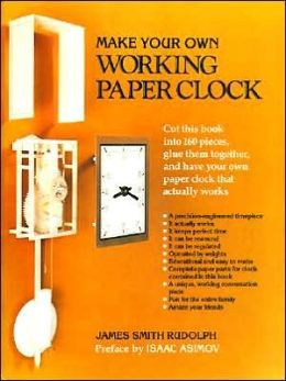 Make Your Own Working Paper Clock
