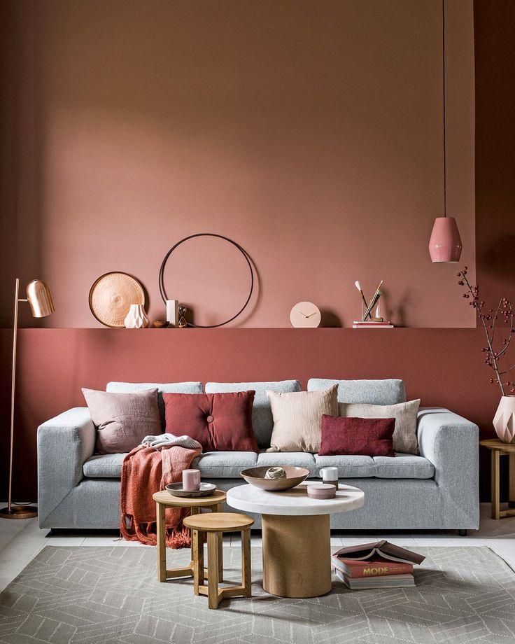 Les 25 meilleures id es de la cat gorie poudre de couleur for Salon rose poudre