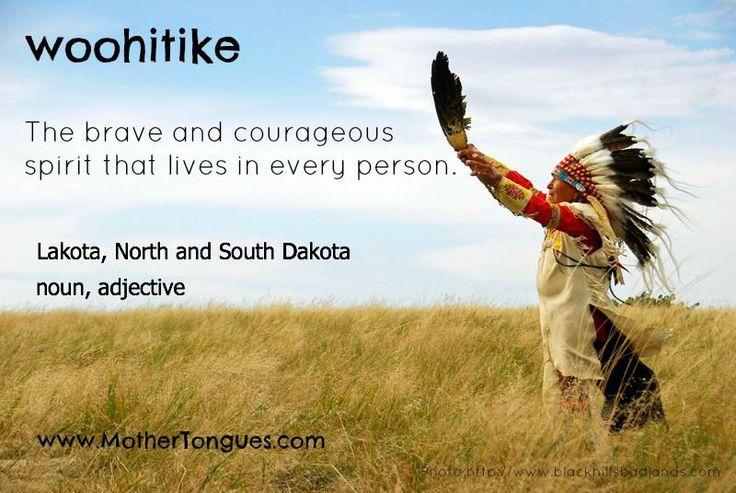 Lakota Quote