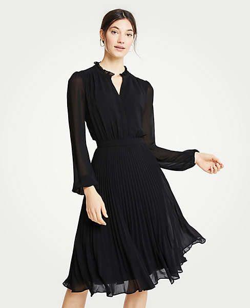 3519b4358b5 Tall Pleated Flare Dress