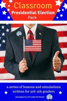 Presidential Election 2016 - Simulations, Powerpoints, and More! Presidential election years are exciting! If you wish to teach your upper elementary-aged students about our government and the election process, look no further.