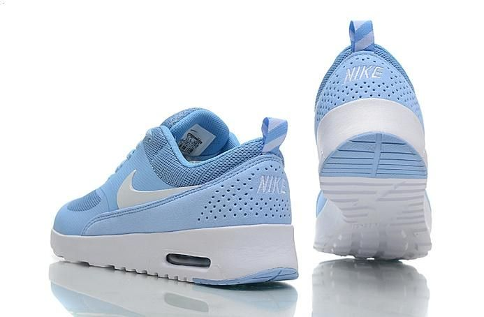 Nike Air Max 90 87 Womens Shoes Baby Blue White 06 6