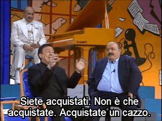 """[Carmelo Bene in """"Uno contro tutti"""",..."""