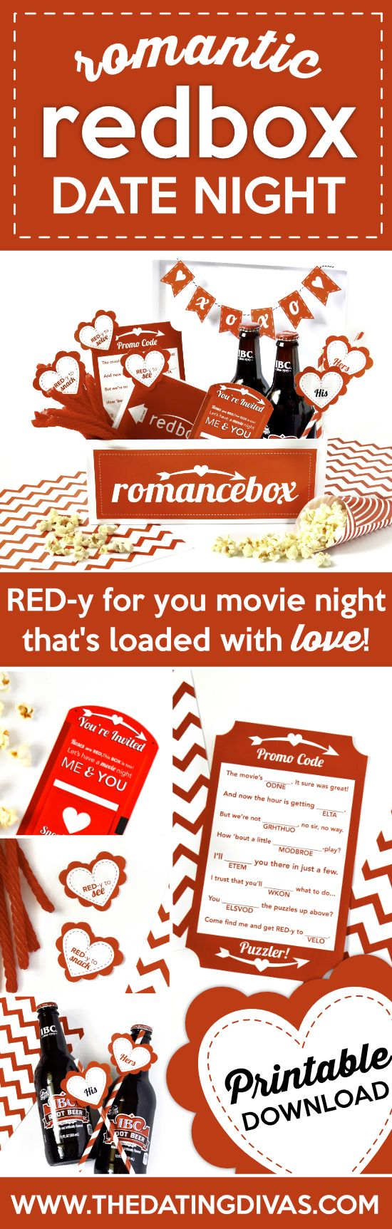 I can't wait to do this for movie/date night! So easy and cute!!