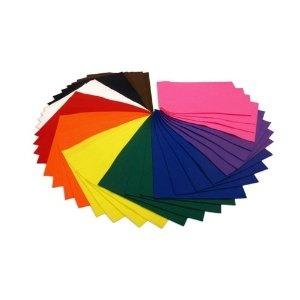 40 FELT SHEETS IN A4 SIZE ASSORTED COLOURS X39: Colour X39, 40 Felt, Assort Colour, Families Packs, Classroom Felt, 15 Assort, Felt Sheet, Acrylics Felt, A4 Sheet