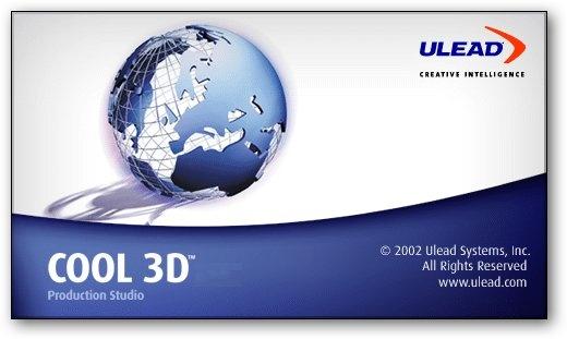 Ulead COOL 3D Production Studio v1.0.1 Portable