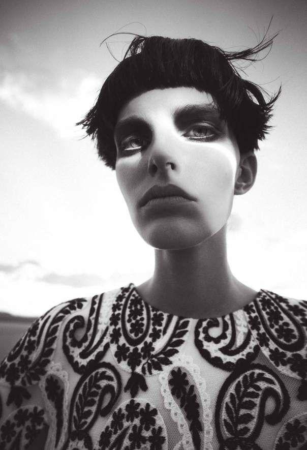 Lisa Verberght by Sofia Sanchez Mauro Mongiello for Bergdorf Goodman Fall Winter 2013-2014