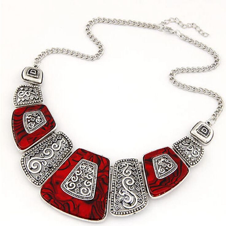 Купить товарНовый чешские колье ожерелье мода этнические ожерелье старинные посеребренные бусины кулон себе ожерелье для женщин в категории Массивные ожерельяна AliExpress.     Описание продукта                                &