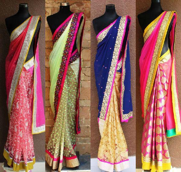 DIY Saree ideas, do it yourself saree ideas, how to design your own sarees