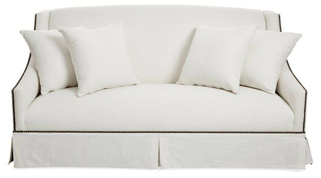 1000 ideas about linen sofa on pinterest linen couch for White linen sectional sofa