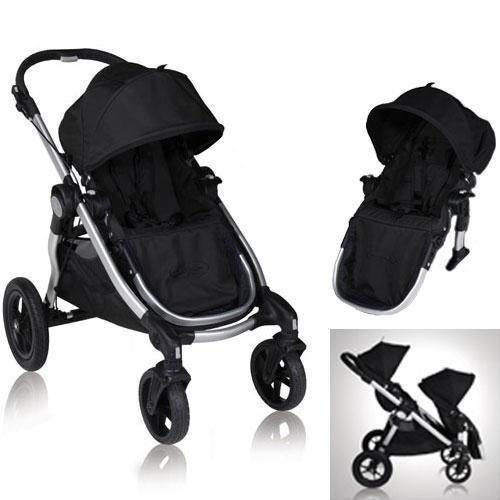 Baby Jogger 81260KIT2 2011 City Select Stroller with Second Seat – Onyx | The best Baby Jogger City Select Double Stroller | Uppa baby double stroller | Baby trend double jogging stroller best models Available in this Portal