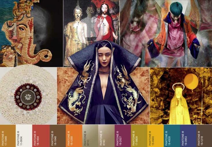 WGSN. AW 14/15 global colour inspiration -spiritual folk