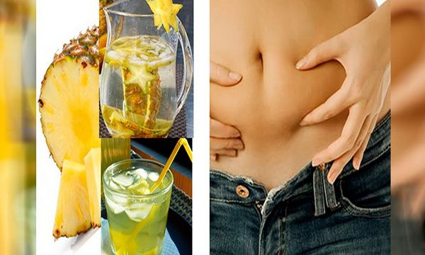 Removes Toxins From Your Body And Reduces Fat In The Abdomen With This Drink Pineapple Peel