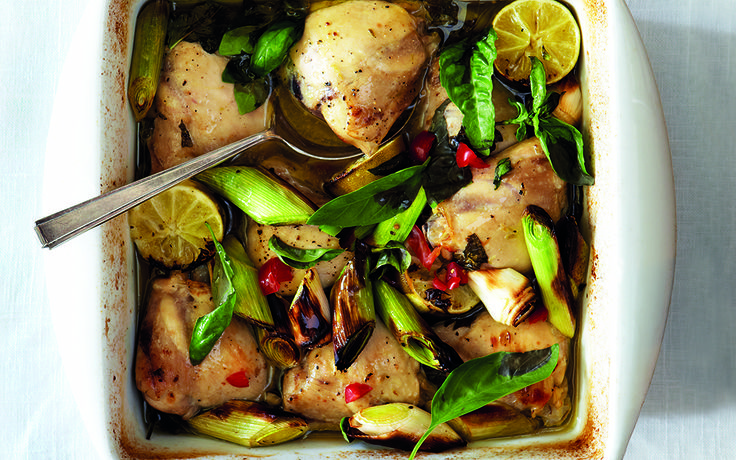 A scrumptious baked chicken dish that combines a delectable selection of flavours