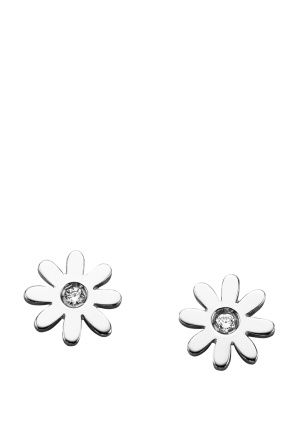 Karen Walker Jewellery for Women | Daisy Stud Earrings in Silver | Incu $119
