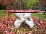Andrew Wielawski Moebius table Sculpture Stone