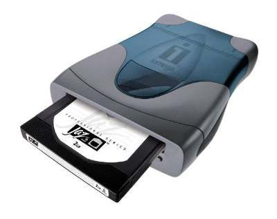 Good and then came iOmega us Jaz Drive one or two Gigabytes