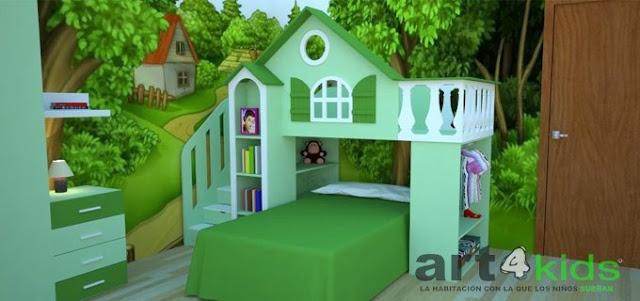 Cama casa para ni os habitaci n ni os pinterest - Camas casa para ninos ...