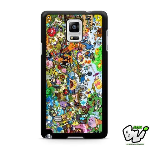 Adventure Time All Characters Samsung Galaxy Note 4 Case