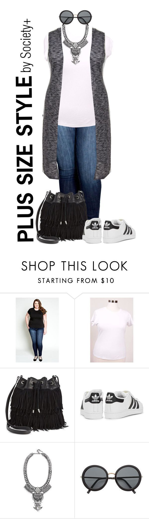 """""""Plus Size Hooded Maxi Vest - Society+"""" by iamsocietyplus on Polyvore plussize, plussizefashion, societyplus and iamsocietyplus"""