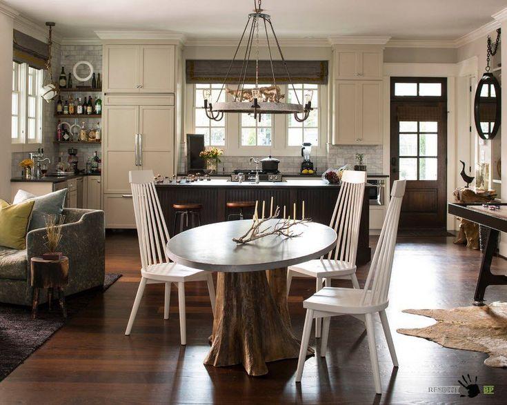 Кухня-гостиная в частном доме – тысяча функций в одном помещении