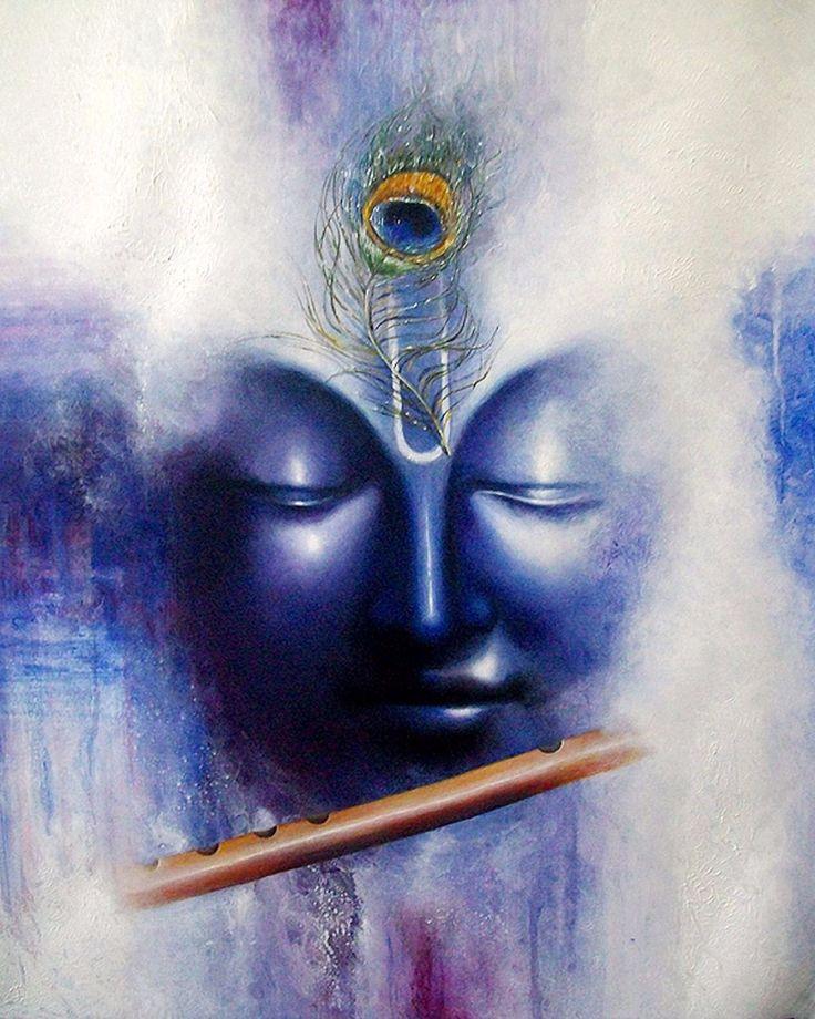Hindu Poster Art: Best 25+ Krishna Painting Ideas Only On Pinterest