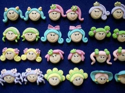 Apliques, Miniaturas De Masa Flexible - Porcelana Fria - BsF 65,00 ...