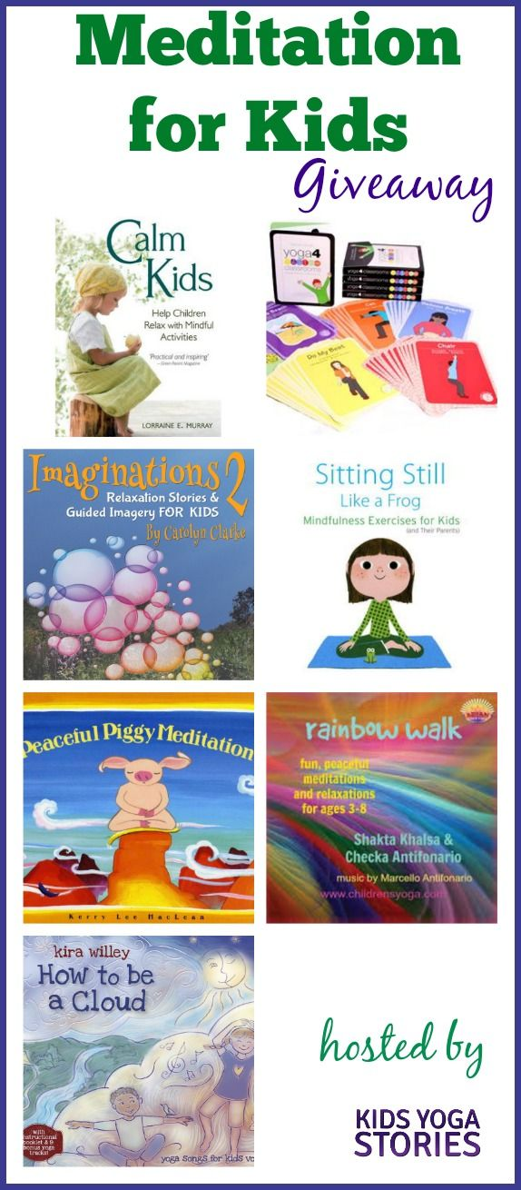Meditation for Kids Giveaway | Kids Yoga Stories