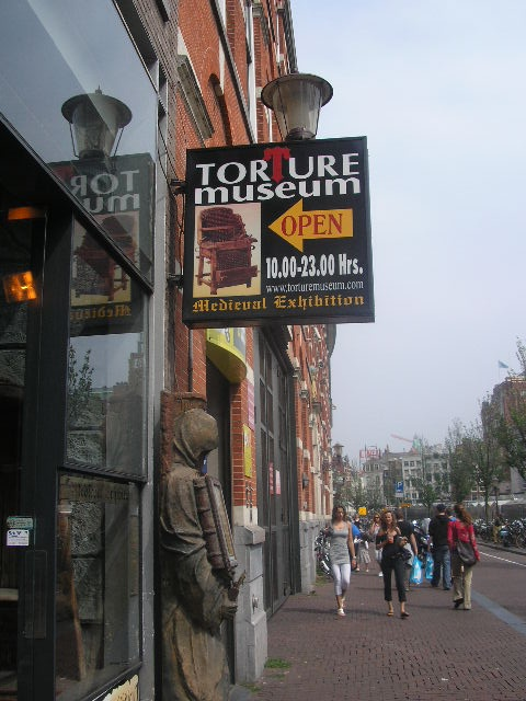 Torture Museum - Amsterdam, NL June '09
