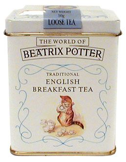 Beatrix Potter - English Breakfast Tea. (Should this be in Memories of Days Gone By - reference to Ms. Potter, or Just Because I Like It? Hell, it can go in both!)