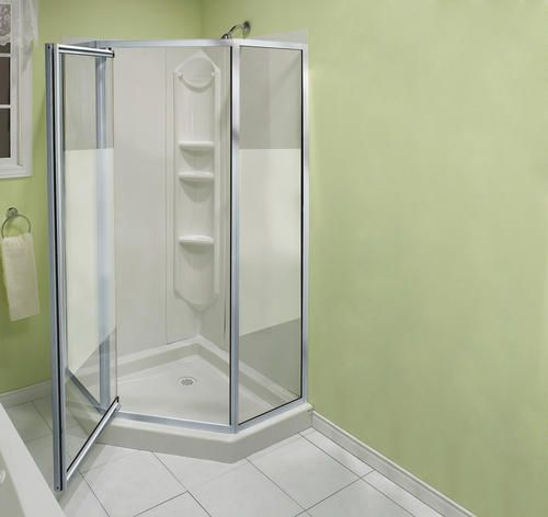 Maax 38 Summit Neo Angle Shower Kit At Menards Cottage