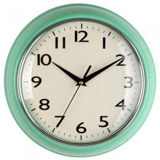 Horloge murale Vert Menthe