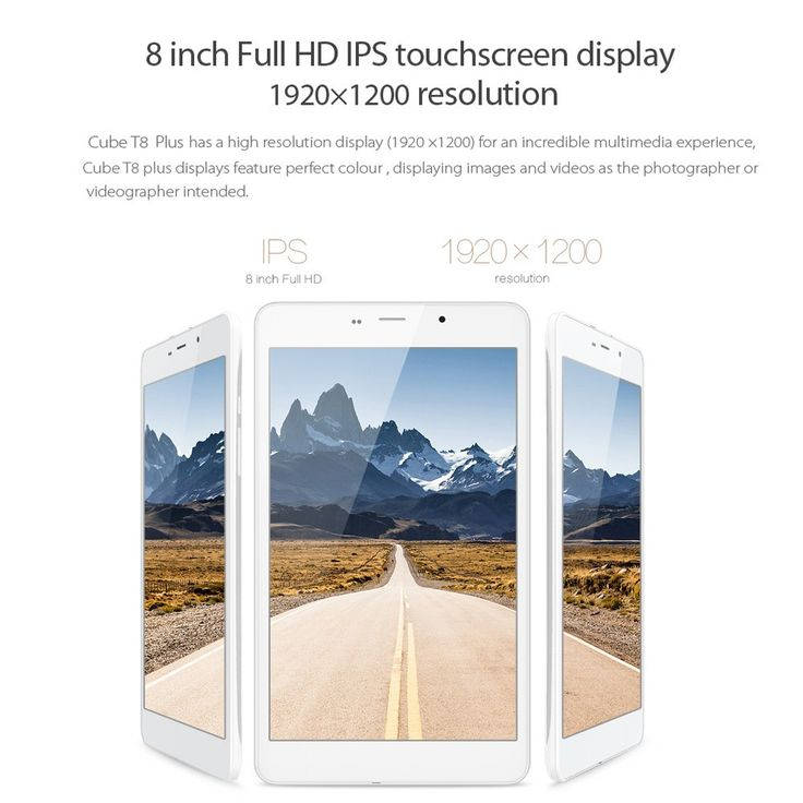 white ALLDOCUBE T8 Plus Tablet 4G LTE Phablet Phone 8.0inch IPS - Tomtop.com