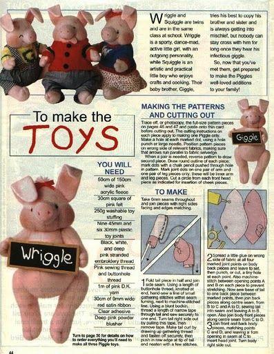 Выкройки игрушек - Страница 11 - Форум